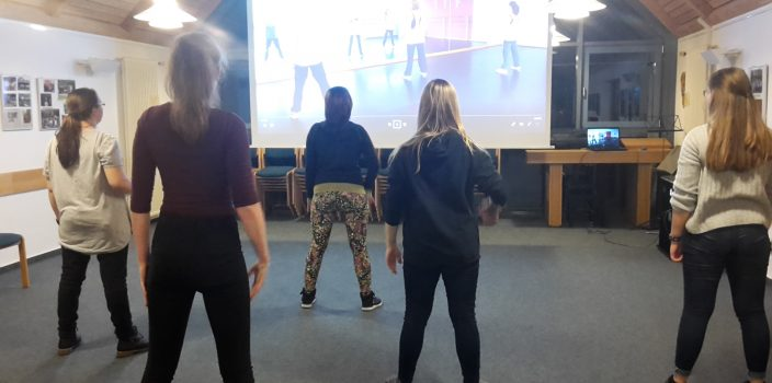 Tanzprojekt im Jugendkeller Cappel