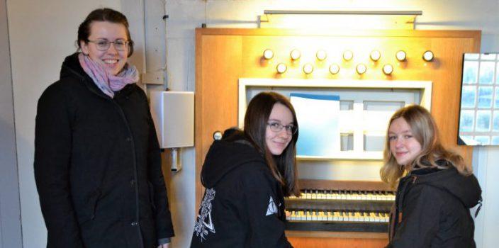 Nachwuchs an der Orgel