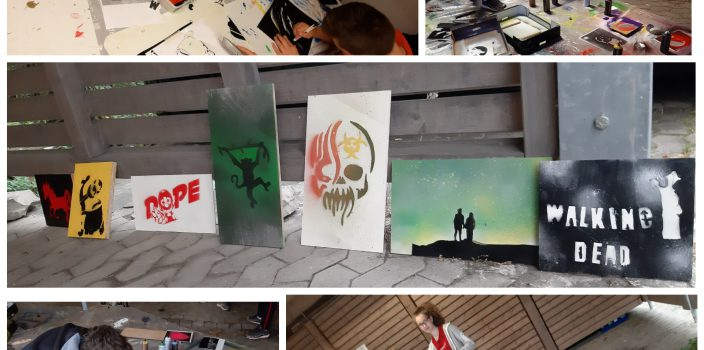 Graffiti-Workshop in Cappel