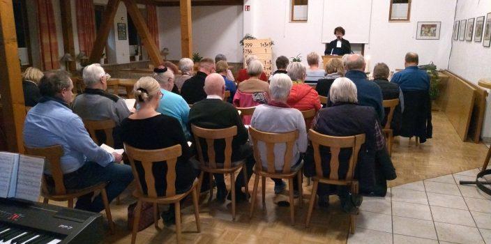 Gottesdienst im DGH Mossenberg