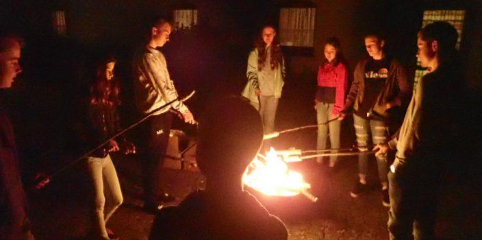 Jugendübernachtung im Herbst