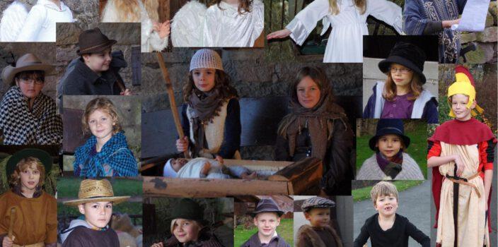 Weihnachtsgeschichte als Fotostory