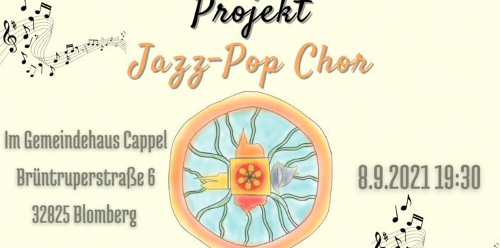 Jazz-Pop-Chor startet am 21.09.